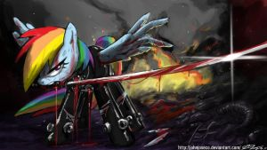 Gantz Rainbow Dash by johnjoseco