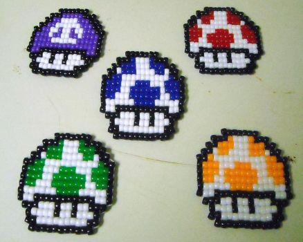 Full Coaster Set by geekbeads