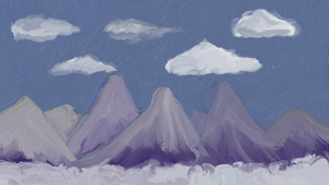 Mountains by Captainpikachu