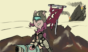 Survival of the Pinkiest (WIP2) by DoggonePony