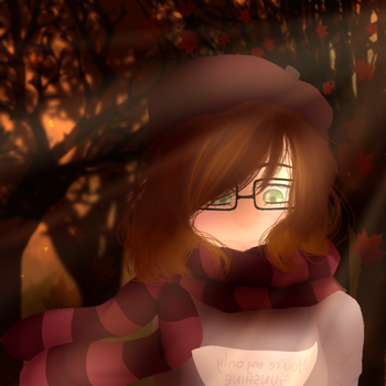 Autumn moment by GypsyCuddles