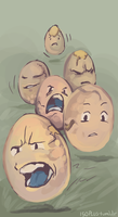 150+ project: exeggcute by edface