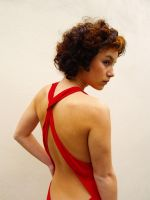 Red Lady by DoodlebeSTOCK