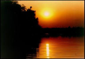 Sunset 3 - Africa by besok
