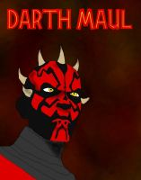 Darth Maul by JediAnakinSkyguy
