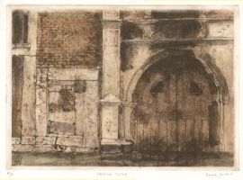 intaglio print door by derekjones