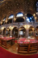 John Rylands Library Main Hall II by karla-chan