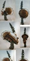Bioshock Big Daddy Nerf Maverick by ajldesign