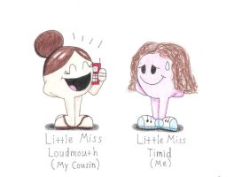Little Miss Cousins by OddballArtist