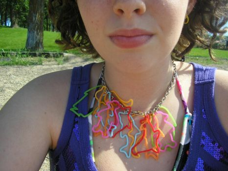 SillyBandz Necklace 2 by Veganpezgirl