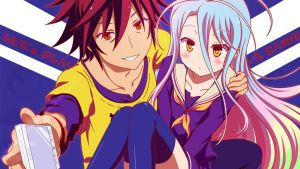 no game no life wallpaper 2 by trafx99