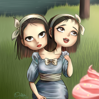 AHS Freak Show - Bette and Doth by Thildou-chan