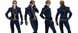 X men anime poses no dude should strike by art-is-my-bream