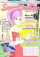 SweetDesign cover for August 2015 by poppyrous