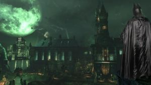 Overlooking Arkham by batty9999