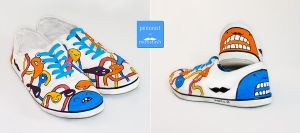 Custom shoes 001 by Pinionist