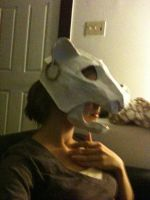 Lion Mask Construction by Thrissir
