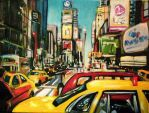 Times Square by artistwilder