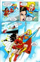 Supergirl versus Mary Marvel 4 by ArchiveSW