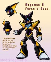 Forte / Bass - Mega Man X Concept by MedriFogmatio