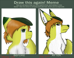 Draw this again Meme :D by MissKittens