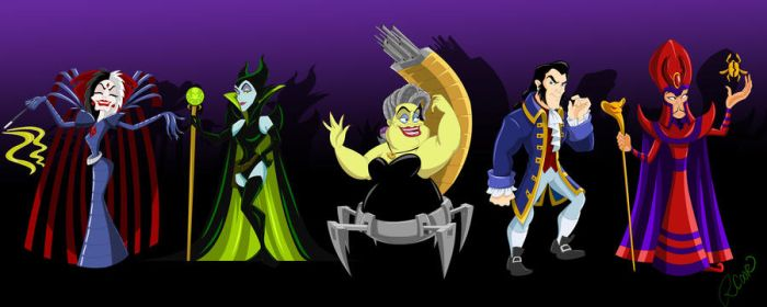 Super Villains Mashup by racookie3