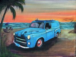 1954 Dodge Panel van by jkruse2001