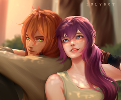 Commission Couple by Lulybot