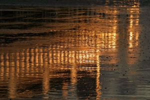 Reflections on Sand by Andrew-and-Seven