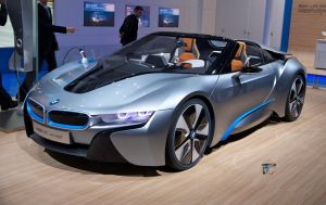 Electric BMW i8 spyder by danythemummy