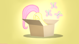 Simple Fluttershy Background by Lol-Tusci