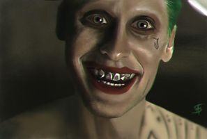 Jared Leto - Joker - Suicide Squad by TheSig86