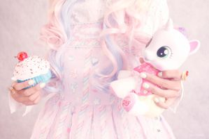 sweet lolita accessories by aiko-yume