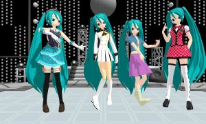 MMD Some random Miku Edits + DL by Jessieheart-2