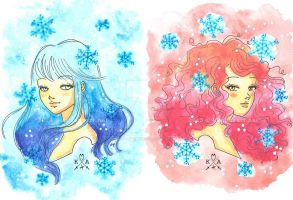 hot and cold winter by BelialMadHatter