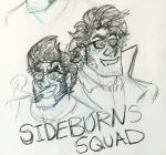 SIDEBURNS SQUAD  by KreApex