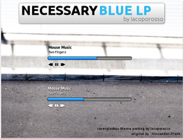 Necessary Blue LP by iacoporosso