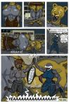 Muscle lioness growth comic, pg. 11, FINAL PAGE by animagusurreal