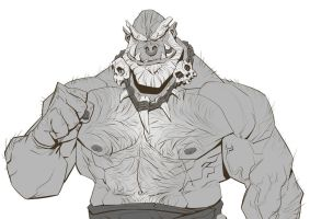 Orc by Nesskain