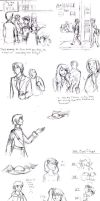 State tan- NYC Doodle Dump by hareno