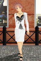 Lady On The Street by EVOV1