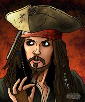 Captain Jack Sparrow by Chrisily