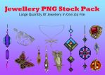 Jewellery PNG Stock Pack by Jumpfer-Stock