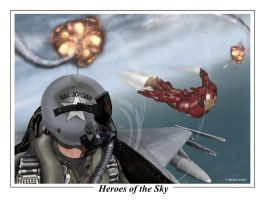 Heroes of the Sky by mrmanders