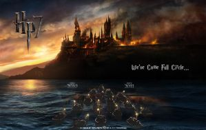 Deathly Hallows Movie Poster by Lilith1985