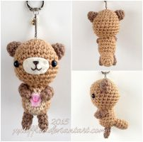 Sea Otter Keychain by xxtiffiee