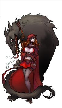 little red riding hood by kirbynasty