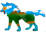 Earth Wolf by fluffy40