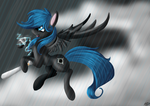 commishion: blackout pulse by twilightsilvermoon