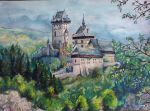Karlstejn Castle by great-queen-morrigan